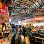 明洞〜東大門観光。広蔵市場で活き手長ダコチャレンジ|韓国旅行記 2018 Day2